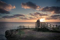 The Sunset Platform (garethleethomas) Tags: sunset sun sky clouds platform outdoor canon seascape landscape wales uk greatbritain pembrokeshire seaside cloud sea shore