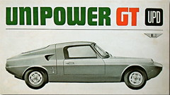 Unipower GT Mk.1 (1966-68) (andreboeni) Tags: classic car advert automobile advertisement cars automobiles publicity voitures autos automobili classique voiture retro auto oldtimer klassik classico classica unipower gt sports bmcmini mini austin morris