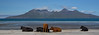 On the beach (Chris Denning Photos) Tags: cows eigg rum island mountains smallisles westernscotland beach