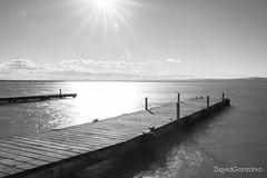 Muelles de l'Albufera (DavidGonzalvo) Tags: nd1000 contraluz albufera largaexposición byn