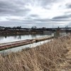Greenway Barge (mynamesnotjason) Tags: iphonography iphone walk tennessee greenway barge