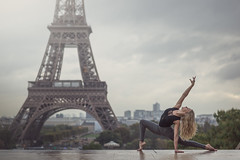(dimitryroulland) Tags: nikon d600 85mm 18 dimitry roulland performer art sport eiffel tower paris france natural light dance dancer grey sky