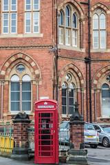 Scott Generations Architecture (ClydeHouse) Tags: gilesgilbertscott lgi redphonebox gradeonelisted leedsgeneralinfirmary leeds byandrew thoresbyplace phonebox georgegilbertscott telephonebox 1869
