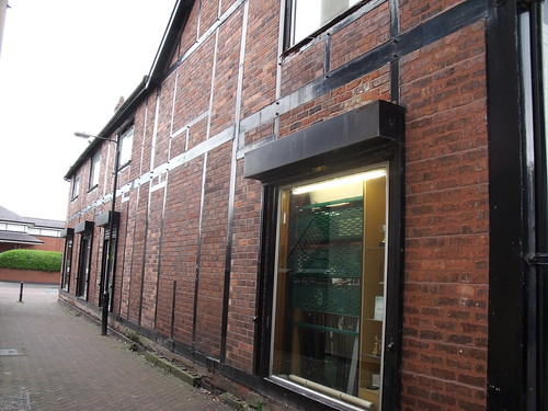 119 Witton Street, Northwich – Rosebank Sports (side elevation)