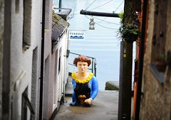 Off the main street in Falmouth (Judith North) Tags: