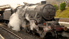 LLANGOLLEN RAILWAY STEAM GALA (chris .p) Tags: steam llangollen railway nikon d610 capture blackfive view spring 2017 uk wales march