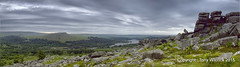 Panorama from Leather Tor (pike head) Tags: uk england panorama leather olympus devon workshop tor dartmoor hdr e30 burrator markgeorge photoengine oloneo