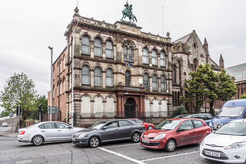 BELFAST CITY MAY 2015 [OLD ORANGE HALL] REF-106501