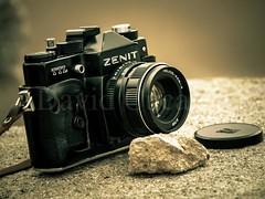 Old days (David Cucaln) Tags: camera old stilllife classic stone vintage olympus retro zenit clasico fineartphotography 2015 e510 cucalon davidcucalon viejacamarafotografica