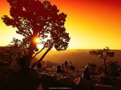 Unforgettable. (Huub wolfs photography) Tags: sunset summer arizona people orange usa nature beauty america landscape nationalpark sundown grandcanyon natuur olympus special amerika paysage westcoast zuiko southrim landschap em1 omd1