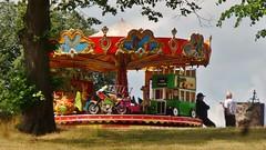 Carousel at rest (35mmMan) Tags: cameraphone stall carousel fair hatfield merrygoround hatfieldhouse android hertfordshire stalls samsungkzoom