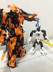 """Passing on the torch"" (Josh~) Tags: lego kai bionicle moc laxus selfmoc"