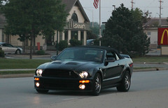 Ford Shelby GT500 Convertible (SPV Automotive) Tags: black ford sports car convertible exotic shelby mustang gt500