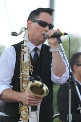 Clint Maedgen (Jason McGorty) Tags: 2015 bluegrass communitycollege folkfest greenmountain greenriverfolkfestival greenfield greenriver massachusetts music reservationhalljazzband saxophone greenriverfest2015 horn