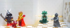 Medusa (erickesler) Tags: monster lego dd dungeonsdragons medusa randomencounter mystara brickwarrior rulescyclopedia