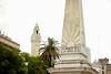 Plaza de Mayo (MiGodau) Tags: plaza argentina buenosaires torre viagem praça plazademayo cidades praçademaio
