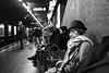 Milano - Novembre 2016 (Maurizio Tattoni....) Tags: milano italy lombardia metropolitana underground persone anziana bn bw blackandwhite biancoenero monocrome leica mauriziotattoni
