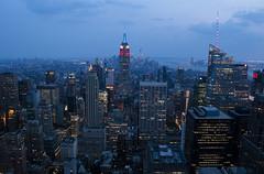 NH0A6248s (michael.soukup) Tags: newyork newyorkcity skyline manhattan empirestate worldtradecenter cityscape sunset dusk skyscraper citylights architecture midtown rockefeller 30rock tower bluehour night nyc building outdoor city