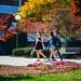 20161102 Students walking fall colors-16