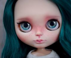 FA - Beryl (OOAK Custom Blythe doll)