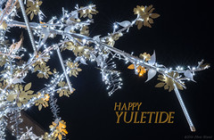 Have yourself a merry little Christmas (OR_U) Tags: 2016 oru christmas yule yuletide judygarland le longexposure hss sliderssunday night lights tree closeup blue yellow black christmaslights christmasdecorations decoration edinburgh