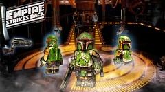 LEGO Star Wars-The Empire Strikes Back Boba Fett (I P R I M E I) Tags: lego starwars theempirestrikesback bounty hunter mandolorian boba fett custom moc