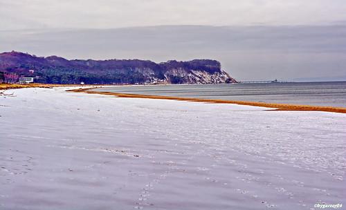 Winter am Ostseestrand