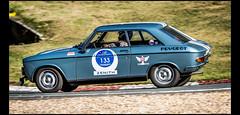 Peugeot 204 Coupé (1968) (Laurent DUCHENE) Tags: linasmontlhéry lesgrandesheuresautomobiles 2016 peugeot 204 coupé