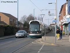 Nottingham 214 Radford Road (TonyW1960) Tags: nottingham bombardier incentro radfordroad net tram strassenbahn trikk tranvia