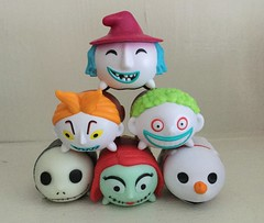 Nightmare before Christmas Tsum Tsums (bumbledaph) Tags: nightmare before christmas tsum lock shock barrel jack sally max toy
