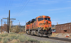 E-SLPBTM 031 (GLC 392) Tags: eslpbtm 031 coal train monument co colorado bnsf railway railroad dpu ge es44ac emd sd70ace 9263 5950 code line telephone pole wires joint