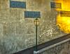 Arco Grande de Cima (Sorin Popovich) Tags: alfama lisboa lisbon portugal arcograndedecima wall streetlamp decay azulejo mosaic tilework colourful nopeople architecture oldtown europe orange d810 tamron 2470 nikon