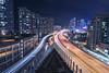 Divided (garycphoto) Tags: toronto ontario canada night city clouds colour urban cityscape long exposure exposures street photography photo photographer light