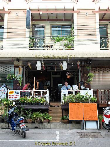 Busaba Bar, 4/1 Soi 55 in 2010, Hua Hin, Prachuap Khiri Khan Province, Thailand.