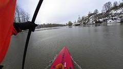 Jan 13 2017 (Kayaker Bill) Tags: sup standuppaddleboarding willametteriver portlandoregon winter2017 rivierapaddleboard snow pacificnorthwest rossisland oregon sonyas100v