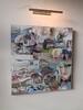 sternberk vernissage work september 2015 by mike esson (mike.esson) Tags: esson mikeesson painting art contemporaryart modernart flickrart mixedmedia collage arte umění malby kunst acrylics canvas czechpainter czech