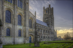 Ely Cathedral 29 (Darwinsgift) Tags: ely cathederal cambridgeshire hdr nikkor pce 24mm f35 nikon d810 multiple exposure winter light