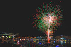 Saturday Fireworks (S♡C) Tags: fireworks sydney darlingharbour harbour