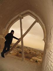 Persia, Meybod, Narin Castle (taha ehsani) Tags: persia iran yazd meybod narin qaleh castle mudbrick stronghold medes achaemenid sassanid sarooj ancient firetemple 1000yearsbc