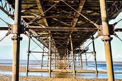 Beneath Southport Pier (georgiabowden) Tags: underneathpiers southportpier