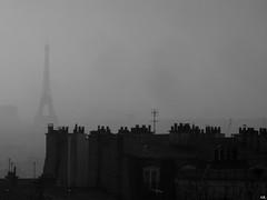 Paris (olivier.lours) Tags: montmartre toureiffel noiretblanc bw paris france