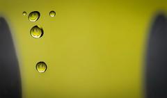 Smiley family (Elisabeth Lys) Tags: smiley droplet water waterdrop d7200 nikon sigma 105mm 105mmf28 yellow crazy fun macrophotography macro liquid highspeedphotography hightspeedphoto