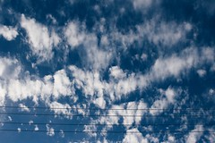 Somerset Sky (Laizee) Tags: laizee 2016 canon 700d 24mm vsco vscocam hb1 clouds sky blue powerline electricity energy atmosphere troposphere somerset