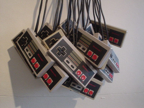 Bunch of NES controllers