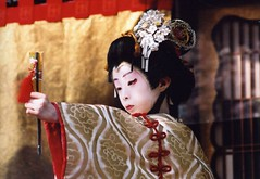 Kabuki actor 1 (転倒虫) Tags: boy people japan kabuki actor topv777 nagahama