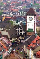 DCP_1328 (_Marcel_) Tags: freiburg breisgau germany stadt city stadttor huser houses citygate