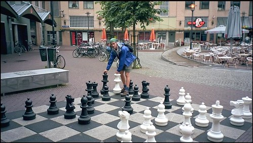 Large Chess Set in Amsterdam