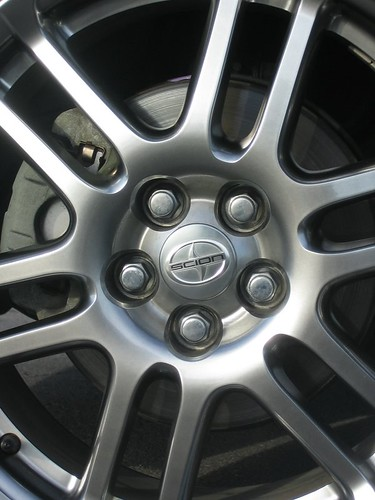 Scion tC cast aluminum wheel