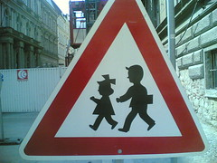 Funny kids sign