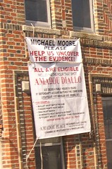 Uncover the Evidence (Lady Madonna) Tags: newyork bronx michaelmoore 050322 41shots amadoudiallo